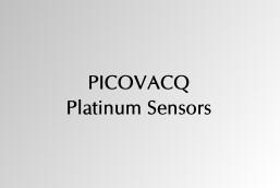 Picovacq Platinum Sensors