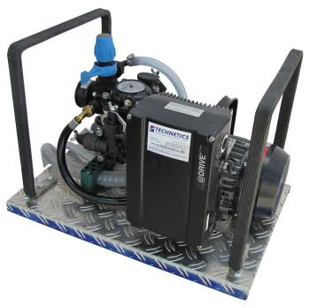 Druckpumpe zur Prüfung von Wasserleitungen - DVGW W400-2