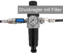 Druckregler mit Filter