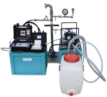 Komplettes Druckprüfsystem für Wasserleitungen mikromec DpKit-W25