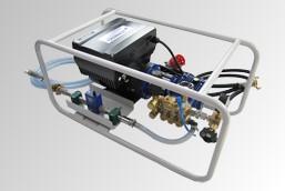 Hochdruckpumpen zur Prüfung von Gasleitungen DVGW G469